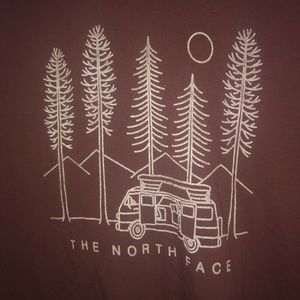 XL North Face long sleeve graphic